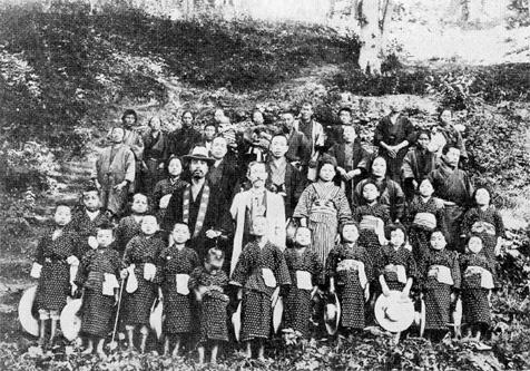 明治39年(1906年) 東北の大飢饉による児童の受入